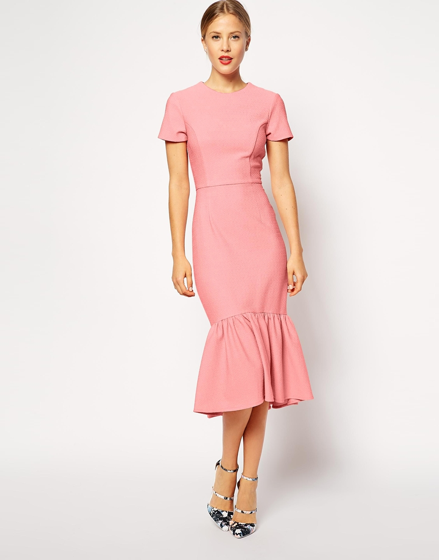 Pencil dress wedding guest gown and dress gallery for Wedding guest designer dresses